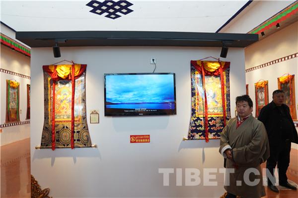 Ausstellung der Thangka-Werke der Miansa-Schule eröffnet