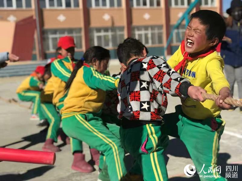 28 children's palaces established in Lithang, southwest China's Sichuan