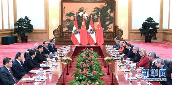 China und Österreich etablieren strategische Partnerschaft