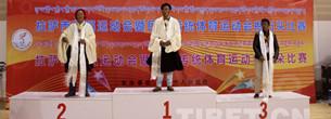 Beendung der ersten Etappe der Lhasaer Spiele