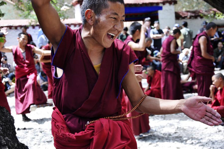 Die buddhistische Debatte im tibetischen Sera-Kloster