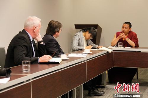 Tibet-Delegation des NVK zu Besuch in Kanada
