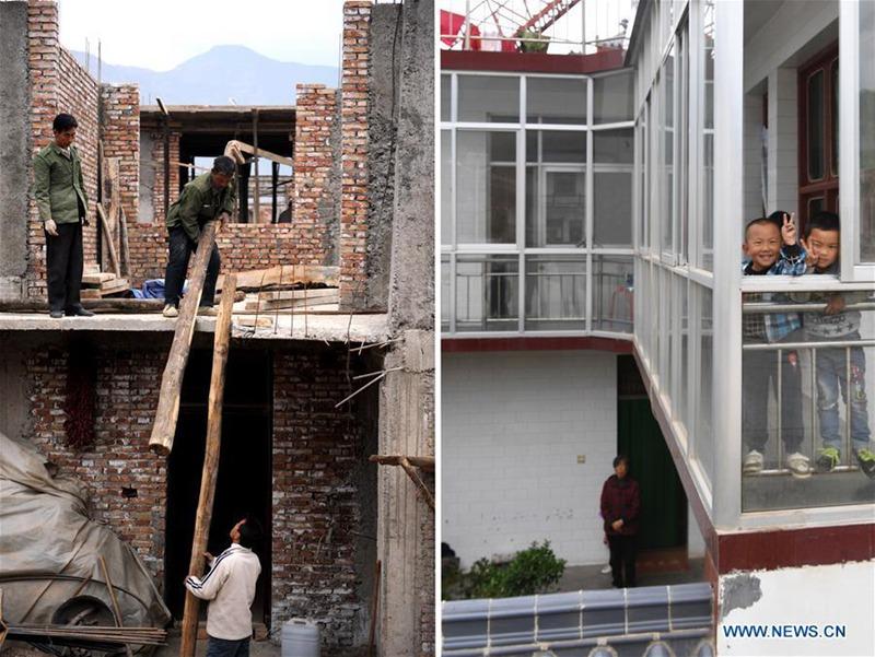 Wiederaufbau in Gan'en: Dorf wird nach Erdbeben in Wenchuan wieder zum Leben erweckt