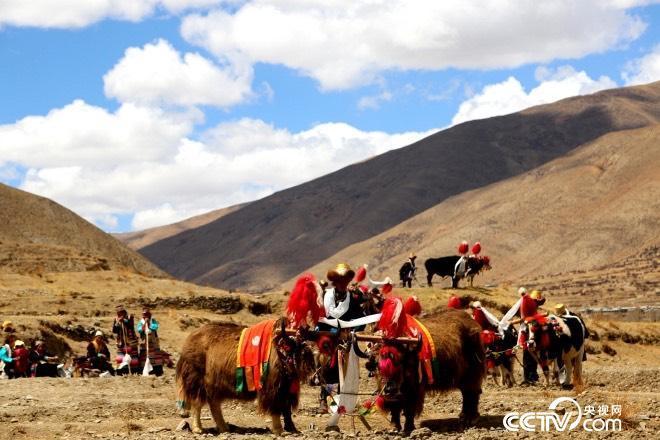 Alte Hauptstadt von Tubo – Qonggyai in Tibet