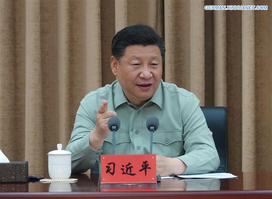 Xi fordert hochrangige Forschungsinstitutionen für starkes Militär