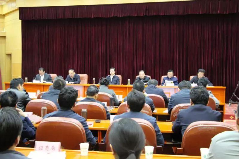 区非公经济工作领导小组第五次全体会议暨藏博会招商引资工作部署会议召开