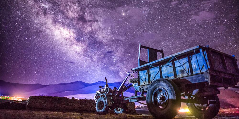 你有多久没仰望星空了