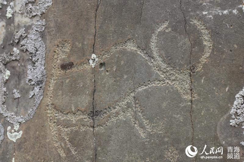 In der Provinz Qinghai wurde alte Gesteinsmalerei-Gruppe entdeckt