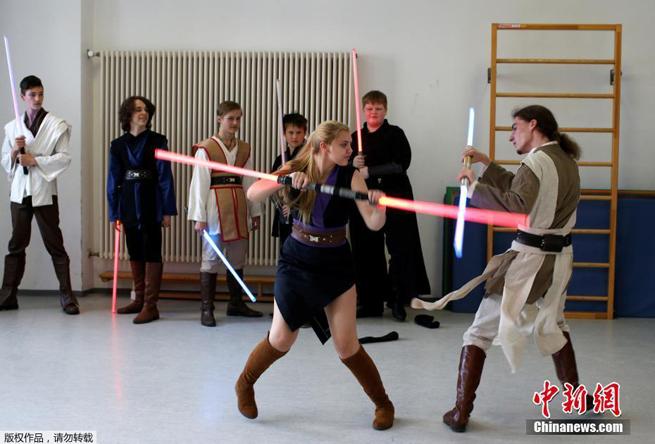 Lichtschwert-Kampf-Schule in Deutschland