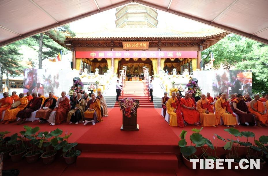Chinesischer Buddhistenverein feiert in Beijing Buddhageburtsfest