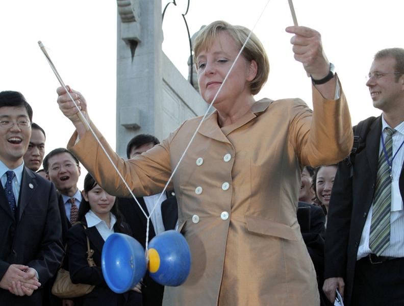 Angela Merkel hinterlässt ihre Spuren in China