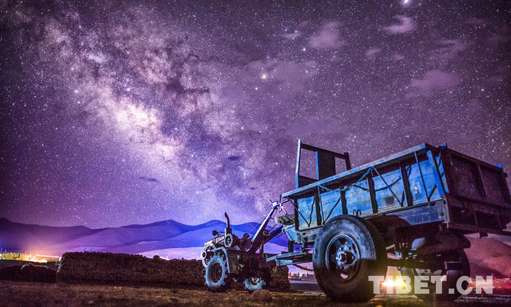 Der Sternenhimmel Tibets