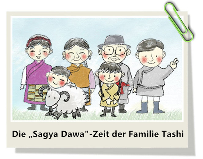 """Bildgeschichte: Die """"Sagya Dawa""""-Zeit der Familie Tashi"""