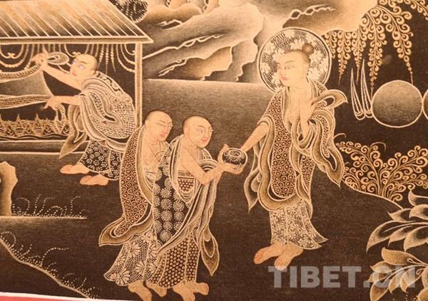 Niangben-Thangka-Ausstellung in Shenzhen