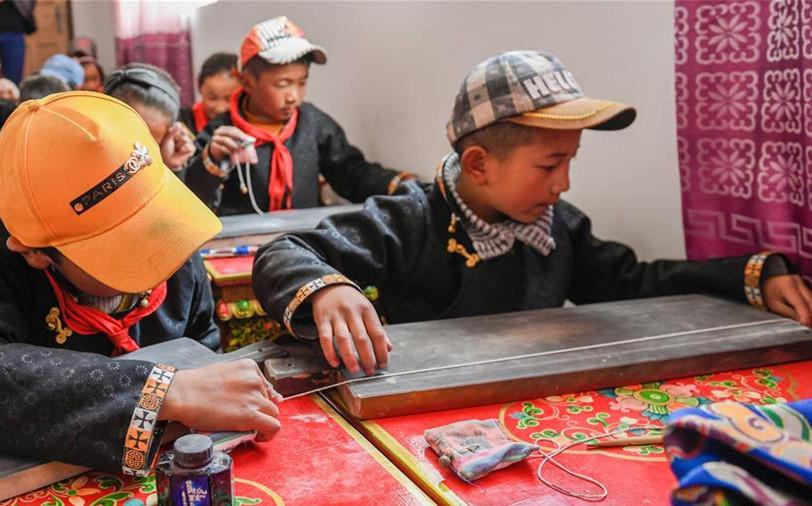 Grundschule in Nyingchi unterrichtet verstärkt tibetische Kalligraphie