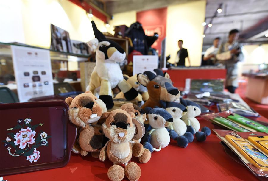 Exhibition tour on Tibetan cultural creations held in Nanjing