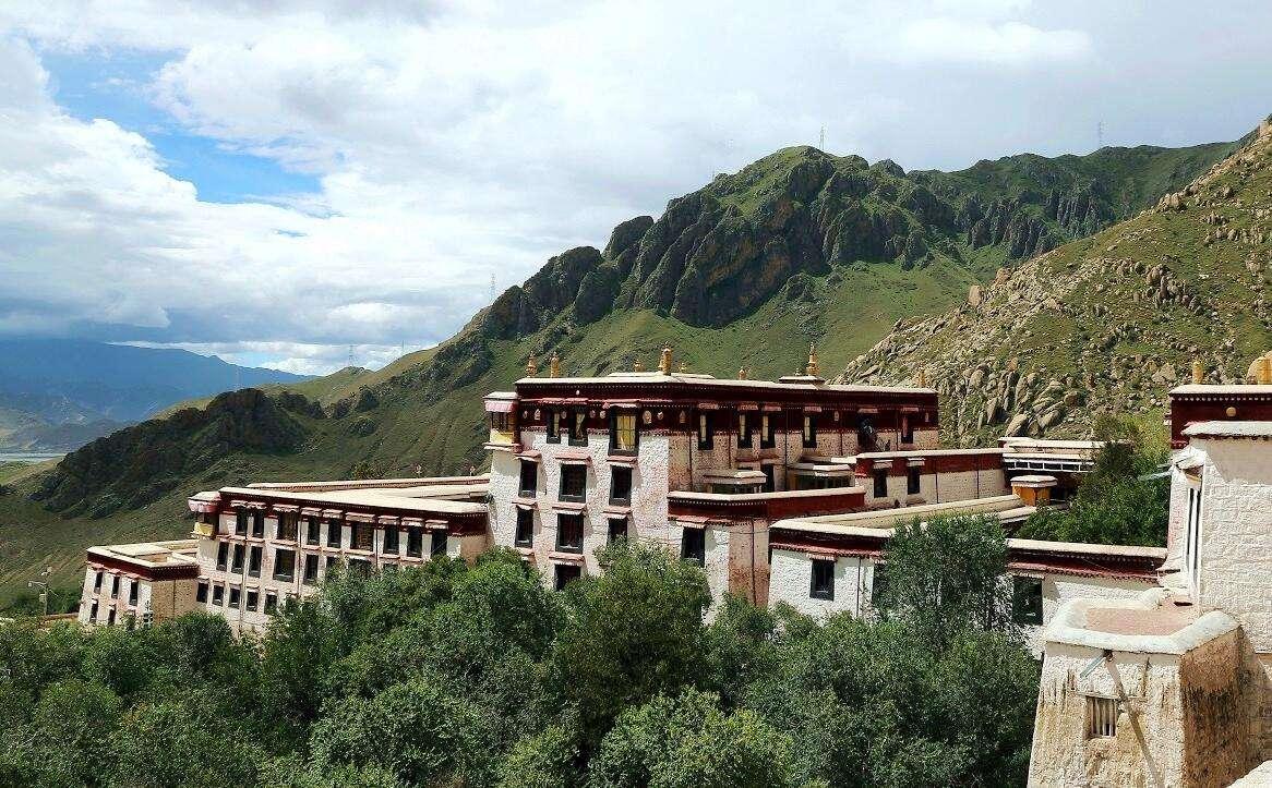 Das Drepung-Kloster in Lhasa