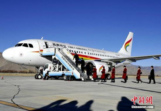 """""""Großer Wandel"""" des Flughafens Gonggar in Lhasa"""