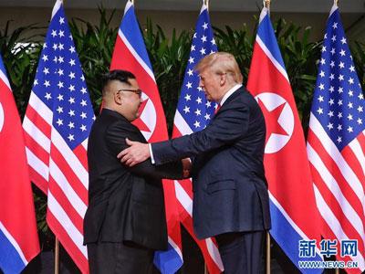 Trump und Kim beginnen Gipfel in Singapur