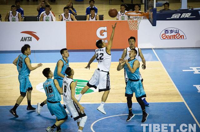 Livescores : Basketball-Spiele in Tibet veranstaltet