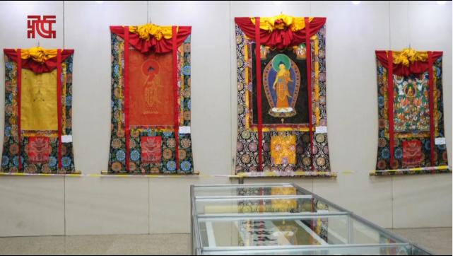汉藏书画艺术作品大型慈善公益展览于民族文化宫展出