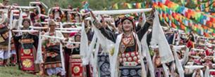 "?Opferritual zum Drachenbootfest"" in Ngawa"