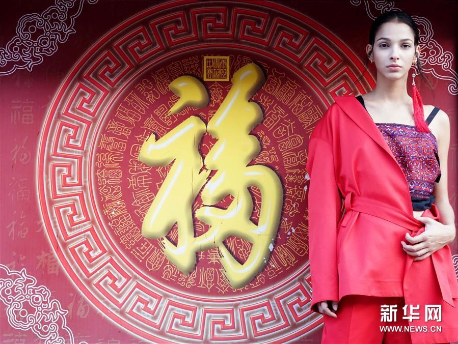 Beijinger Modeshow in der alten Prinzenresidenz