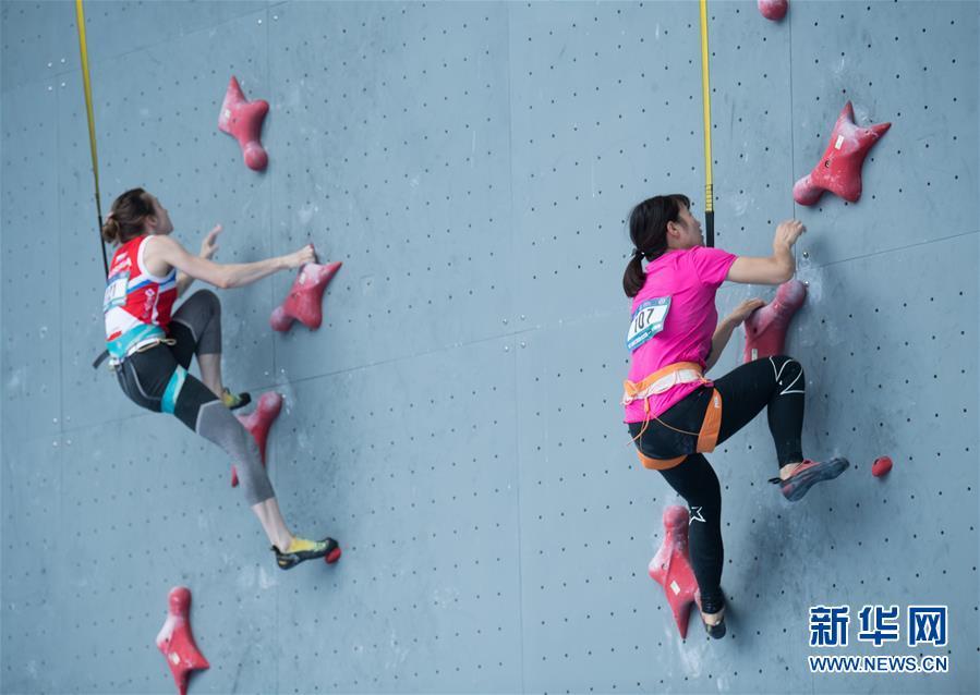 Tibetische Sportlerin holt Gold bei Klettermeisterschaften