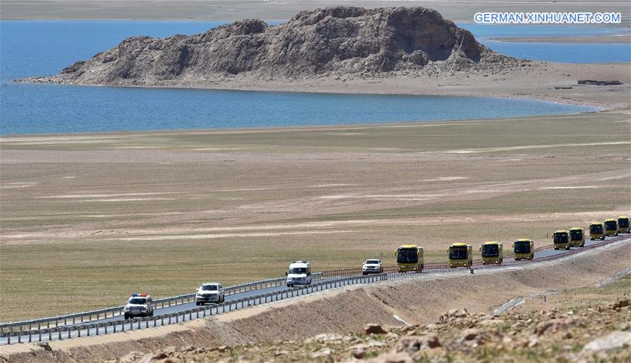 Tibet siedelt Dorfbewohner in hoch gelegenem Naturschutzreservat um