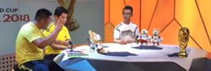 Fu?ball-WM wird live auf Tibetisch kommentiert