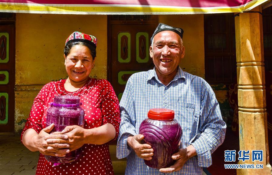 Rosenmarmelade verbessert Einkommen von Bauern in Xinjiang
