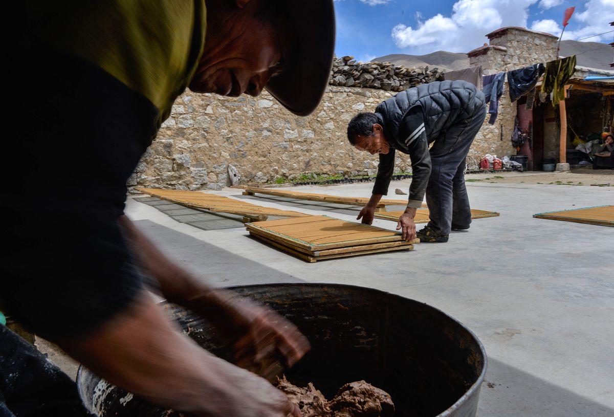Rgya Mtsho: Eine Tibet-Weihrauch-Geschichte