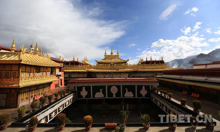 Die alten Kl?ster Tibets