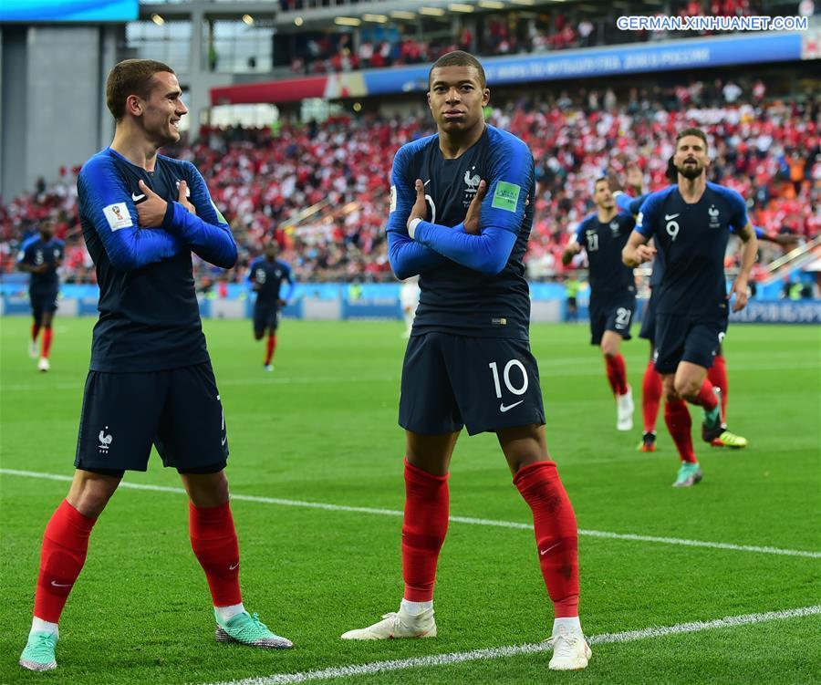 WM 2018 Gruppe C: Frankreich 1:0 Peru