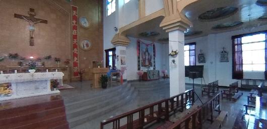 VR/Die einzige katholische Kirche in Tibet