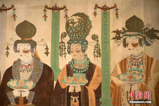 """Ausstellung """"Digitalisierte Grotten von Dunhuang"""""""