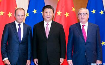 Xi Jinping trifft EU-Ratspräsident