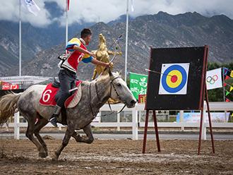 马背上的风采,西藏第四届民运会马术项目比赛落幕