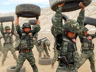 """武警西藏总队""""魔鬼周""""训练 挑战极限砺精兵"""