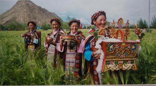 民族之花别样红,五个少数民族地区摄影作品在拉萨展出