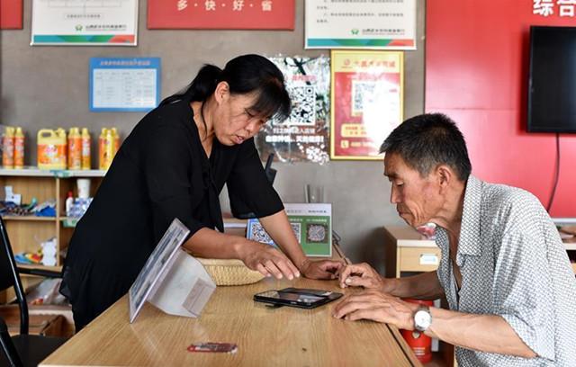 Online-Geschäft hilft Dorfbewohnern bei Verkauf ihrer landwirtschaftlichen Produkte