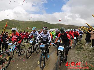 2018西藏雅砻文化节环羊卓雍错自行车公开赛