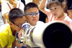 中国科学技术馆吸引各地学生