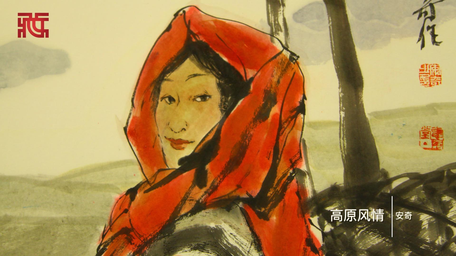 丝路绘画展于炎黄艺术馆展出