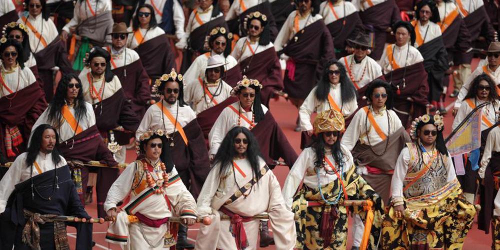四川少数民族传统体育运动会开幕