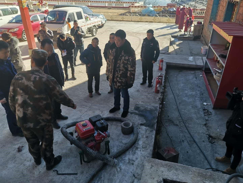 波密县组织开展涉宗领域安全隐患排查工作