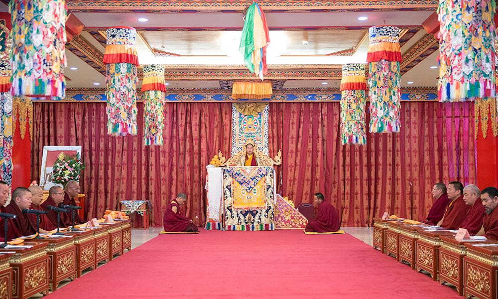 西黄寺举行怀念十世班禅大家圆寂30周年法会