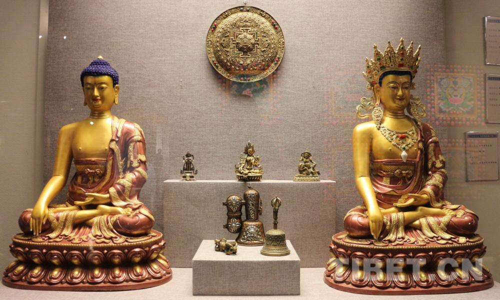 热贡唐卡在首都展现青藏高原的艺术魅力