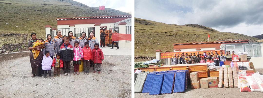"""西藏宏安建设有限公司开展""""百企帮百村""""行动"""
