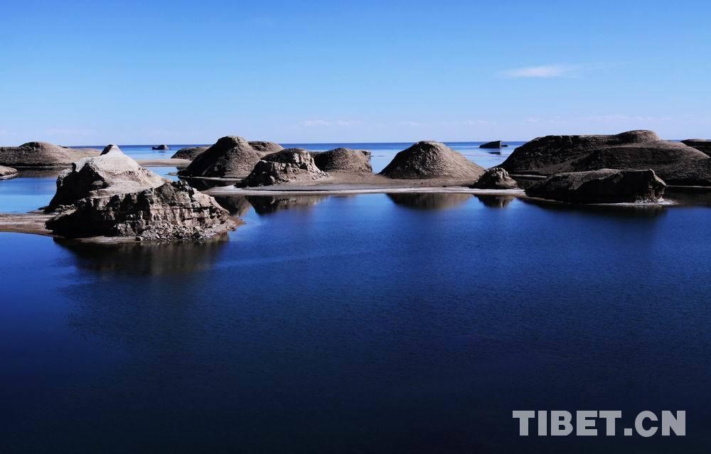 青海唯美风光:大柴旦乌素特(水上)雅丹地质公园